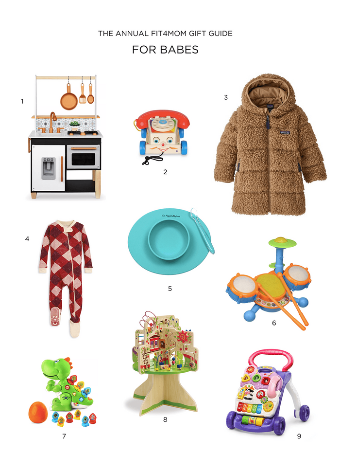 annual holiday gift guide for babies