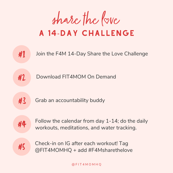 Fit4Mom 14-day workout challenge