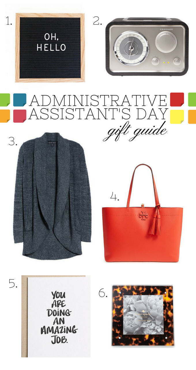 GIFT GUIDE :: ADMINISTRATIVE ASSISTANT'S DAY