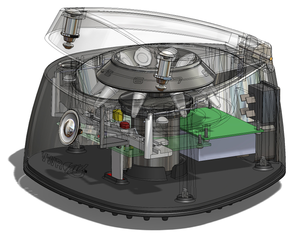 Argos VWR Mini Centrifuge Engineering Lock XRay View.jpg