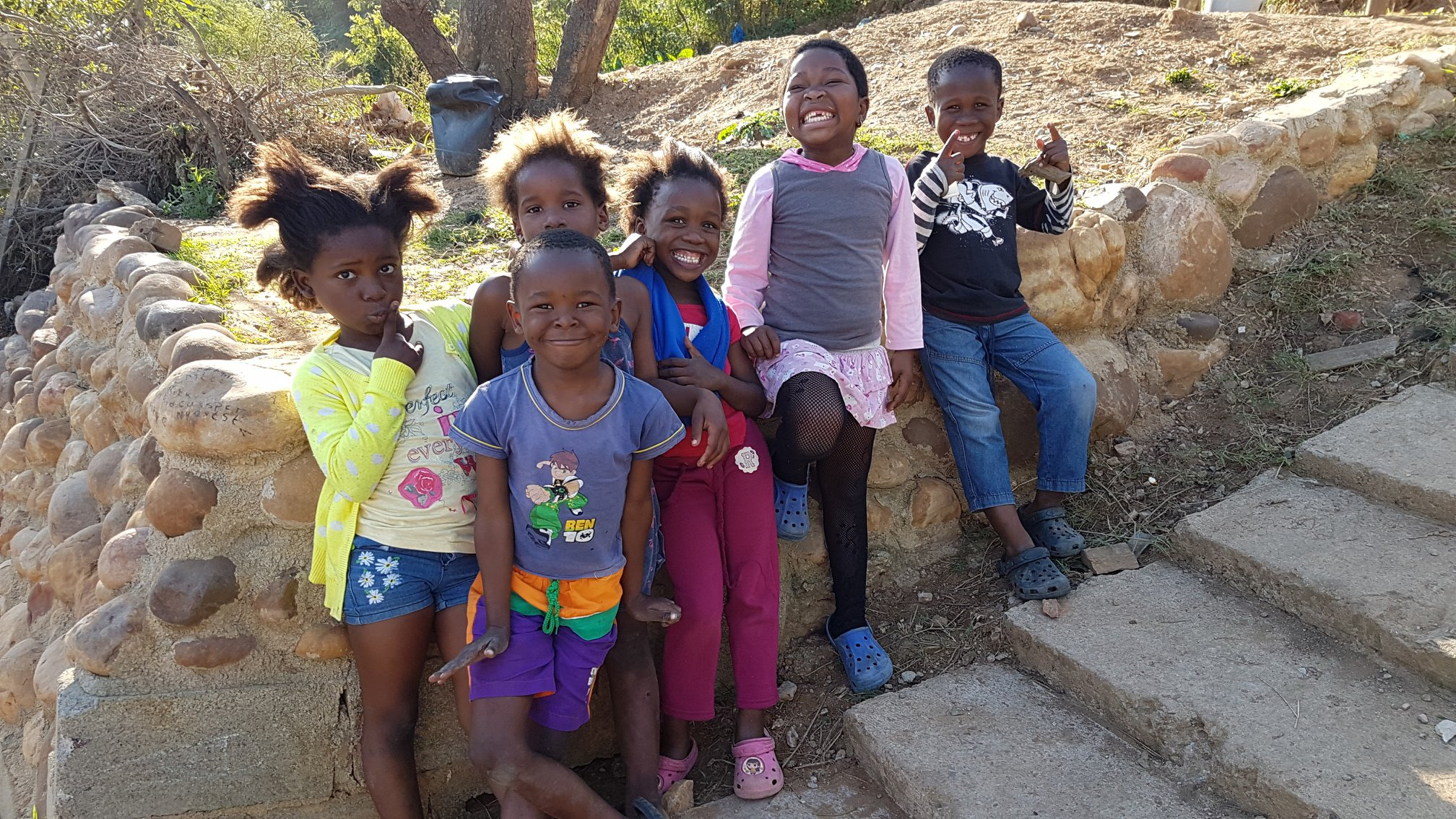 We mentor hundreds of kids in South Africa facing poverty & disease and have seen first hand how love changes futures.