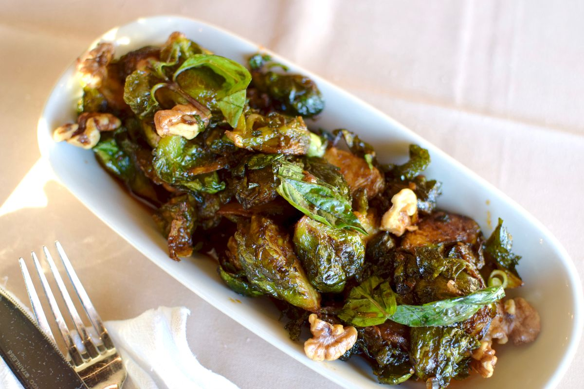 Lillo & Ella's brussels sprouts with walnuts, Thai basil, chili and ginger-soy reduction (1) (1).jpg