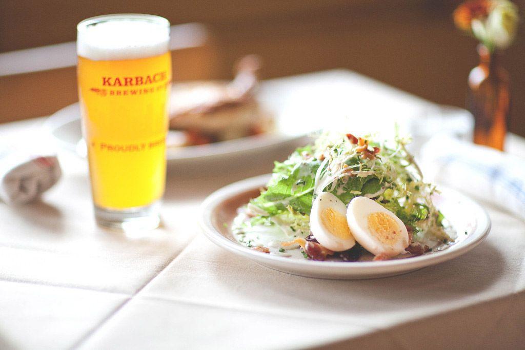 roost restaurant plate egg