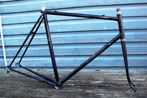 JAMES'S CLASSIS CITY BIKE, HANDMADE BIKE FRAME, BALTIMORE