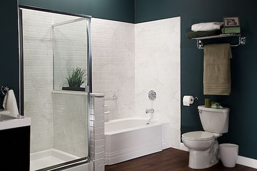 White Classic Bath & Silver White Marble Subway Walls with Chrome_IMG_3989_LR_bp.jpg
