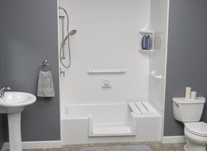 Easily Accessible Walk-In Shower