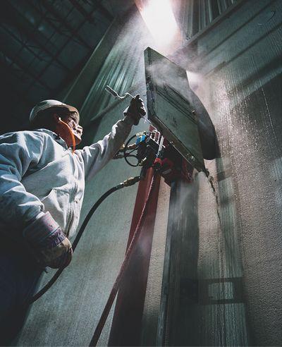 Concrete Wall Cutting  - Michigan Concrete Sawing & Drilling Company