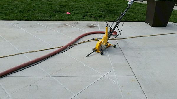 Decorative Cutting  - Michigan Concrete Sawing & Drilling Contractor